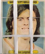 1975 Bay city rollers star stickers