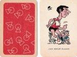 Bruynesteyn karrikaturen , ongenummerd , Ned. spelers , 1961