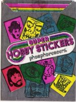 1972 Hobby Stickers